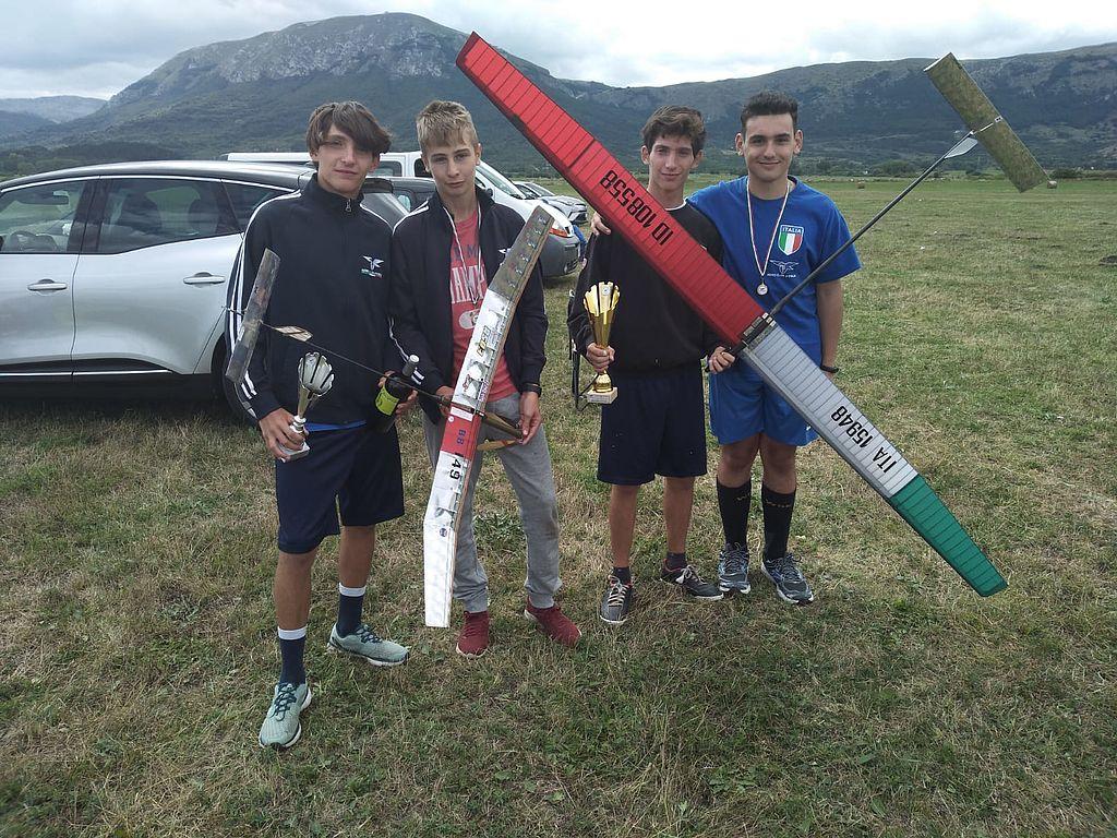 Squadra nazionale juniores aeromodellismo