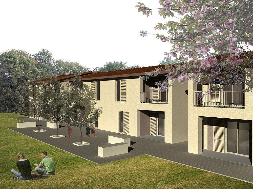 Risultati immagini per cohousing castelvecchio di compito