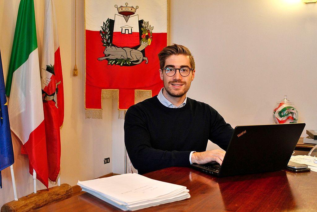 Il vicesindaco Matteo Francesconi