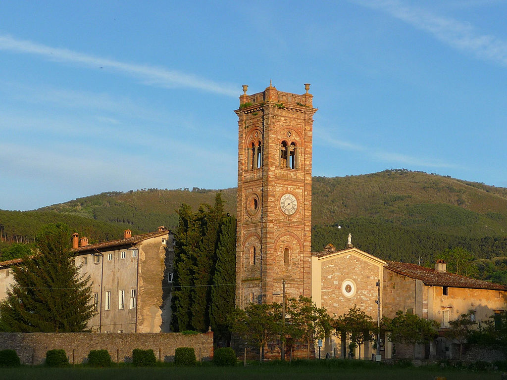 La chiesa di Badia di Cantignano