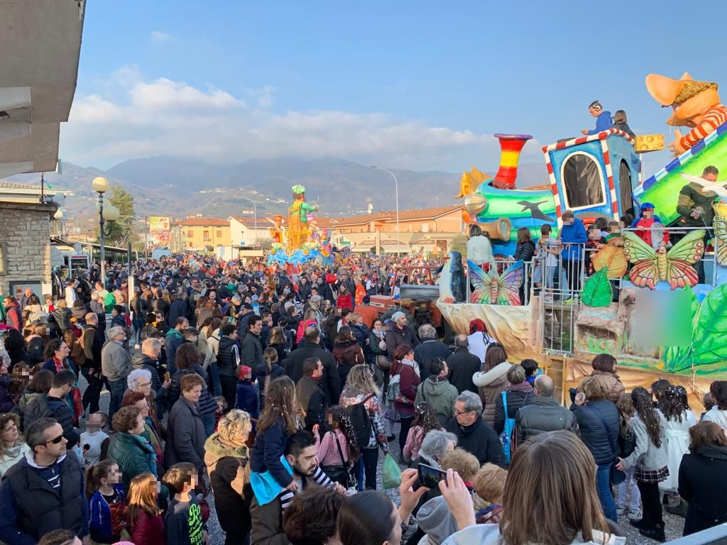 La scorsa edizione del CarnevalMarlia