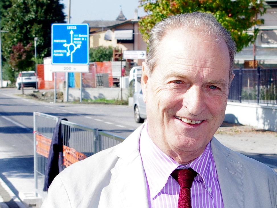 L'assessore ai lavori pubblici Pier Angelo Bandoni