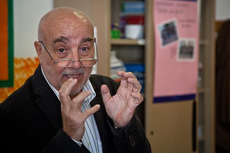 Il presidente dell'Agorà del Cibo e del Consiglio del Cibo Giorgio Dalsasso
