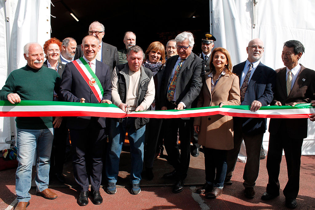 L'inaugurazione della 30° edizione della Mostra Antiche Camelie della Lucchesia