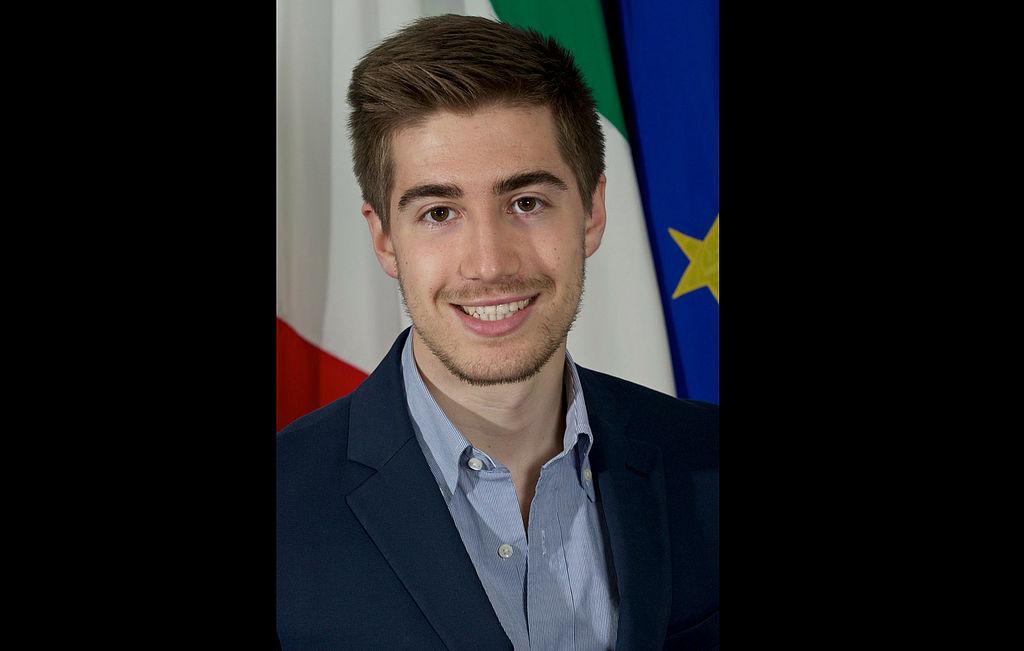 L'assessore all'ambiente Matteo Francesconi