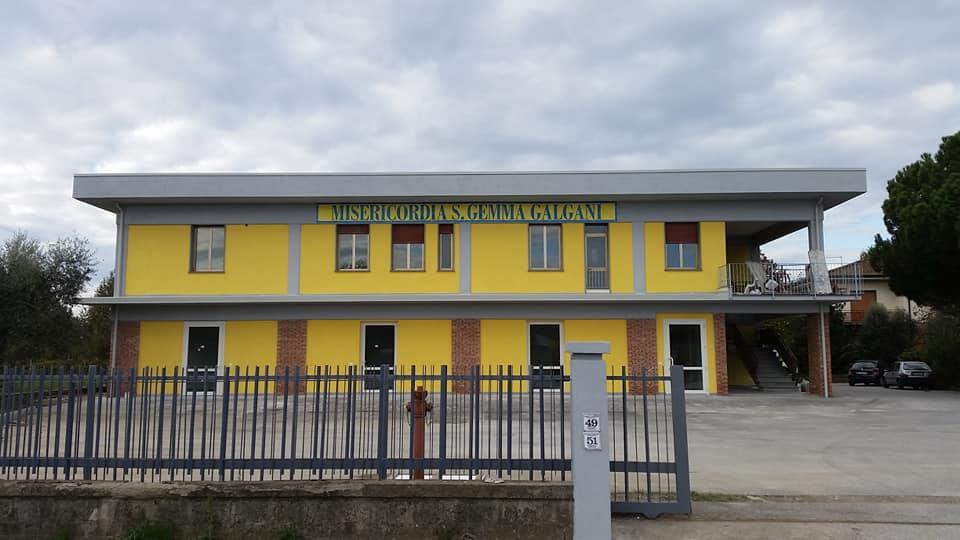 La nuova sede della Misericordia Santa Gemma Galgani di Camigliano