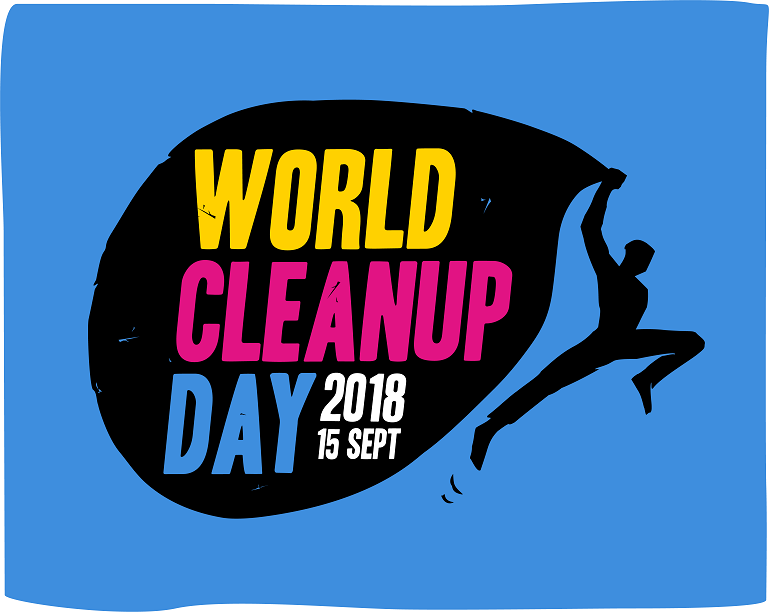 Il logo World Cleanup Day